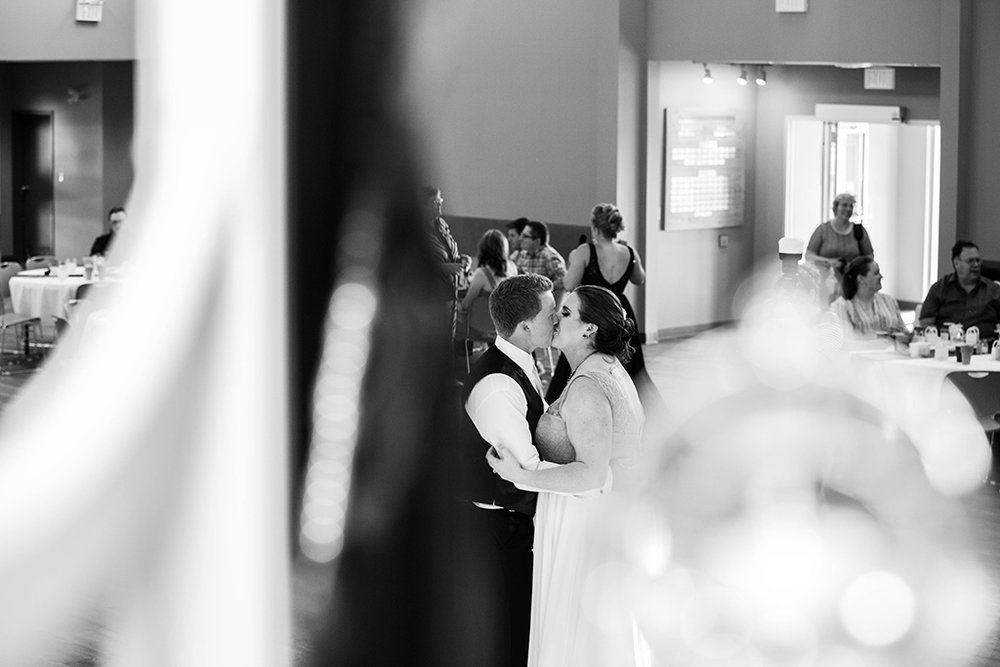 This beautiful shot during the first dance was taken by my husband the second shooter.