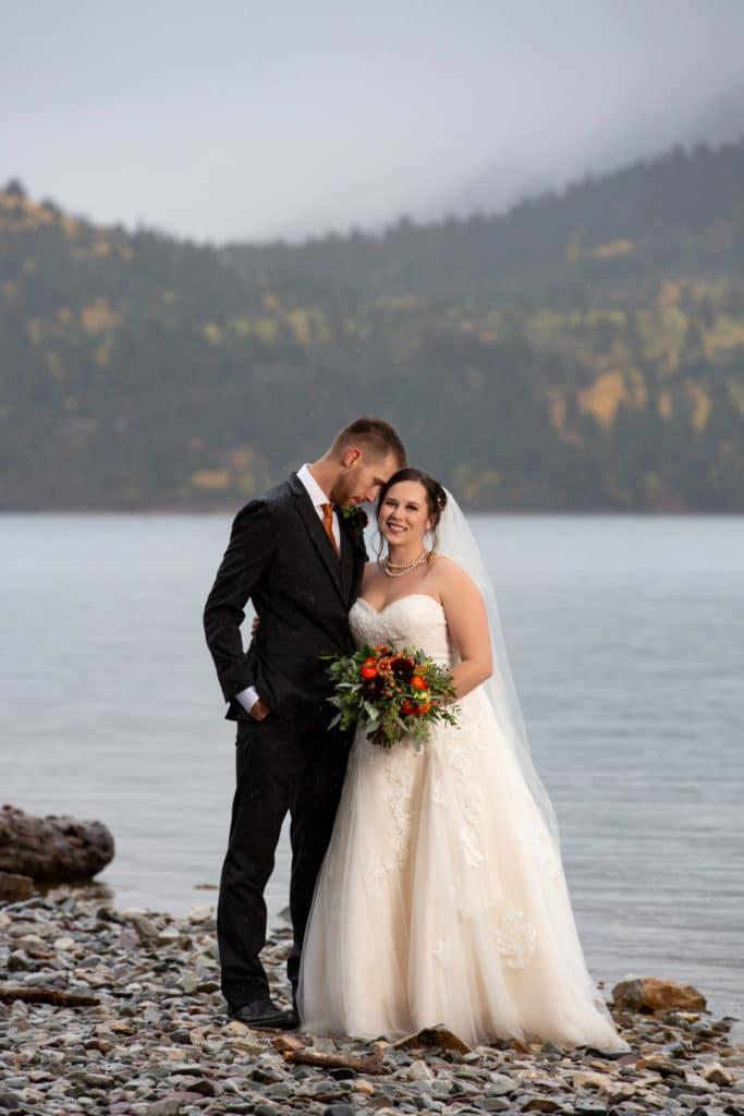 waterton lakes wedding
