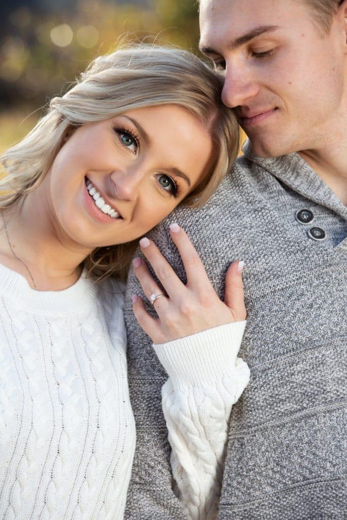 Engagement session Riverbottom lethbridge